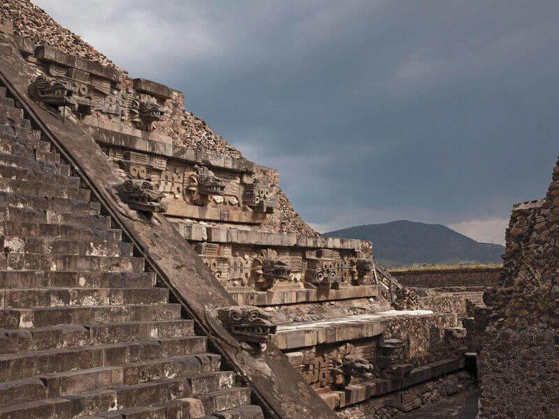 Храмът на Пернатия змей. © Janet Jarman
