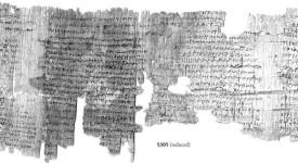 © Imaging Papyri Project, University of Oxford & Egypt Exploration Society
