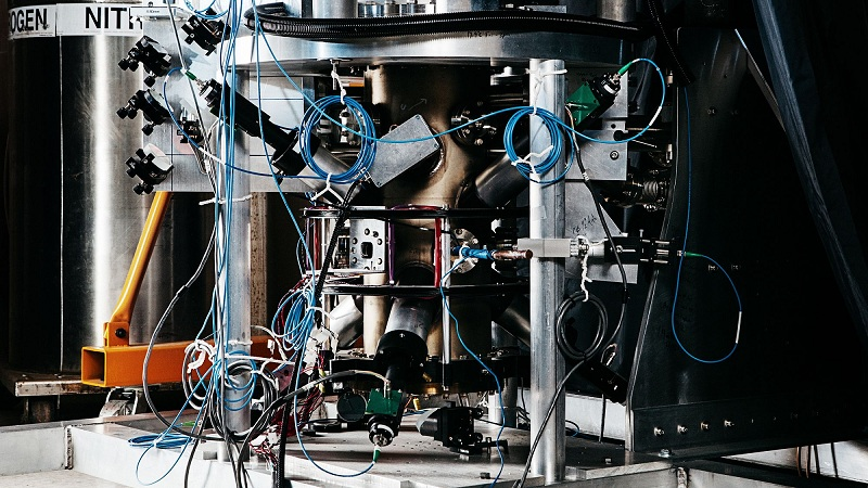 NIST F2 – най-точният часовник в света. © Benjamin Rasmussen