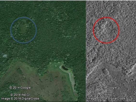 изгубен град на маите Юкатан