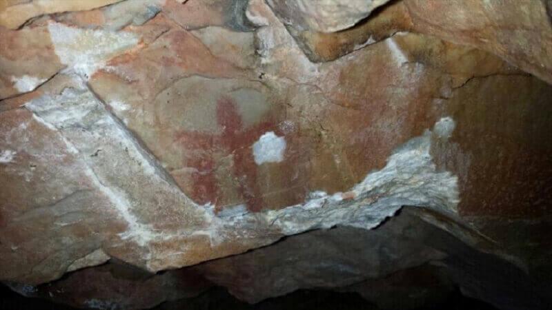 кражба скална живопис Испания