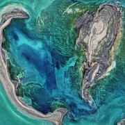 © NASA image by Norman Kuring, NASA's Ocean Color web Caption: Kathryn Hansen