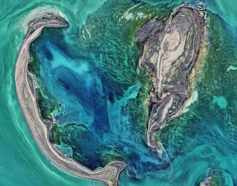 © NASA image by Norman Kuring, NASA's Ocean Color web Caption: Kathryn Hansen