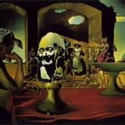 Салвадор Дали, Пазар на роби с изчезващия бюст на Волтер