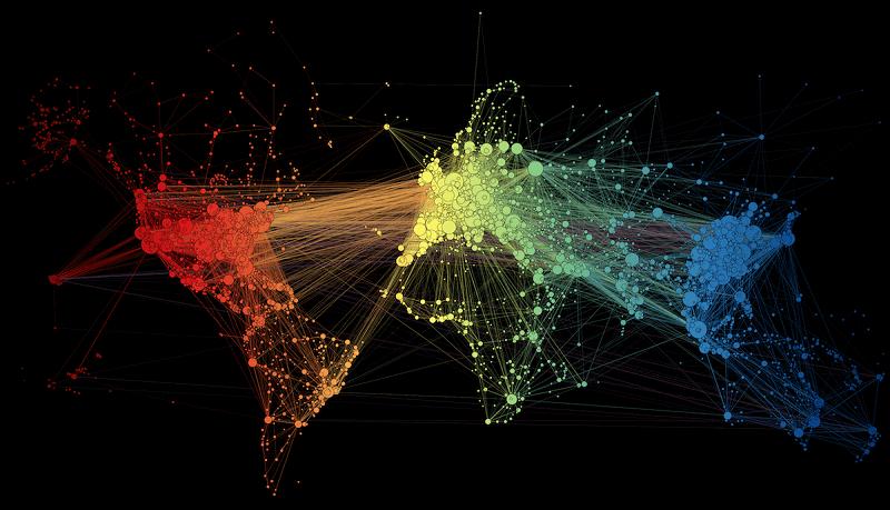 карта на световните полети