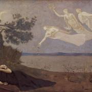 """""""Сън"""", картина на Пиер Сесил Пюви де Шаван, 1883 г."""