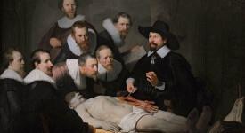 """Урок по анатомия на д-р Тюлп"", Рембранд ван Рейн, 1632."
