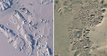 Антарктида, древно селище