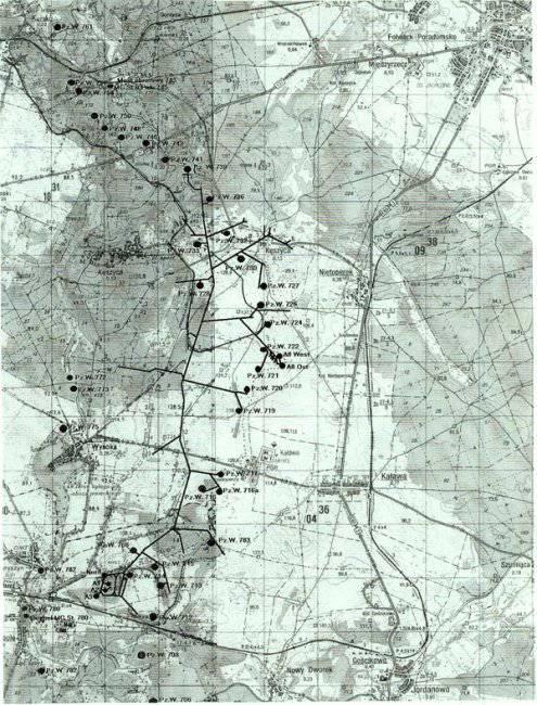 нацискта мрежа от нацистки тунели