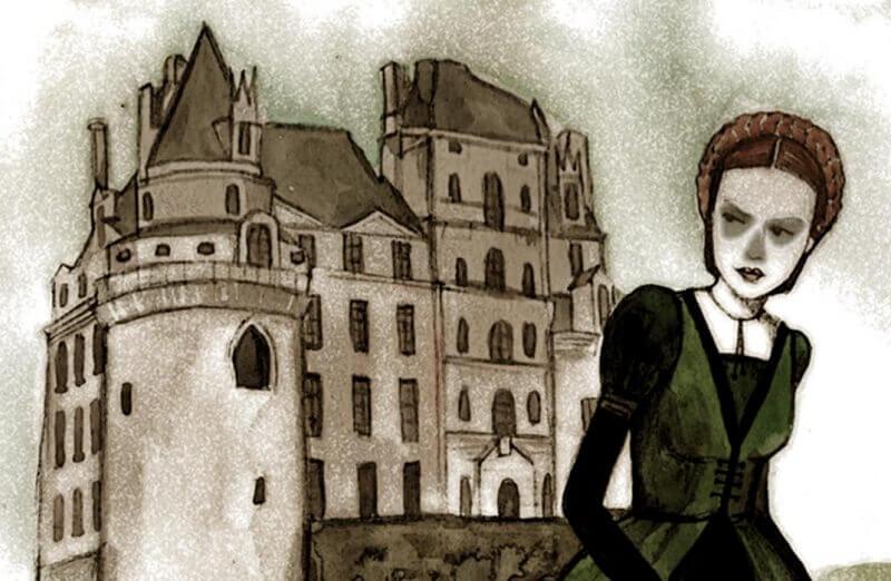 Замъкът Брисак и призракът на Зелената дама