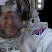 ESA / Tim Peake / Spacewalk selfie