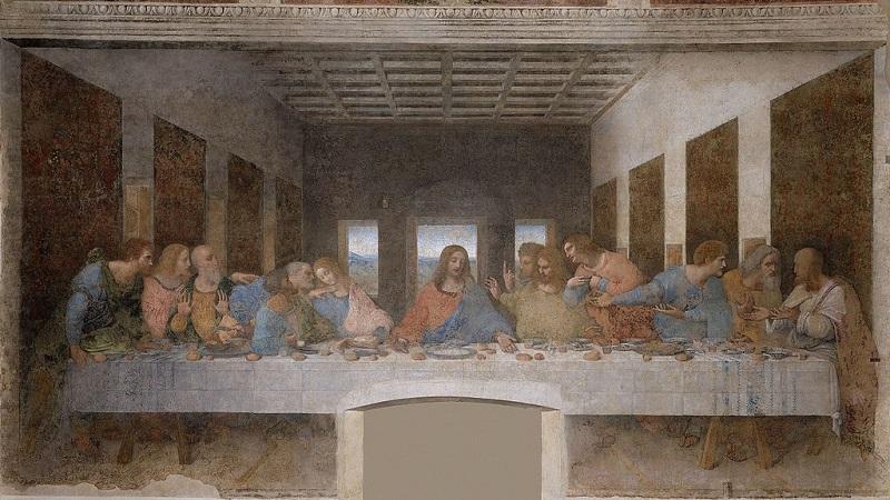 """Леонардо да Винчи, """"Тайната вечеря"""""""