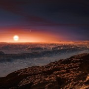 Surface of planet Proxima b