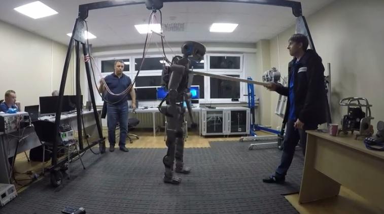Руският робот Фьодор