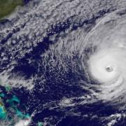 Ураганът Никол наближава Бермуда на 12 окт. 2016. Снимка: НАСА