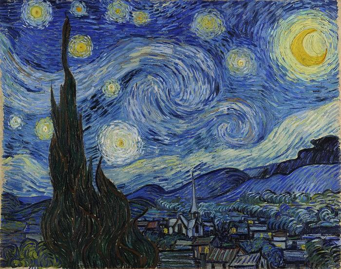 Винсент ван Гог: Звездното небе