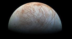 Европа, мистериозната луна на Юпитер : NASA