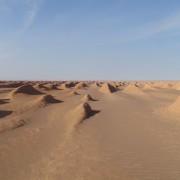 """Пейзажът в пустинята Лут е достатъчно """"извънземен"""" сам по себе си. Снимка:  ix4svs"""