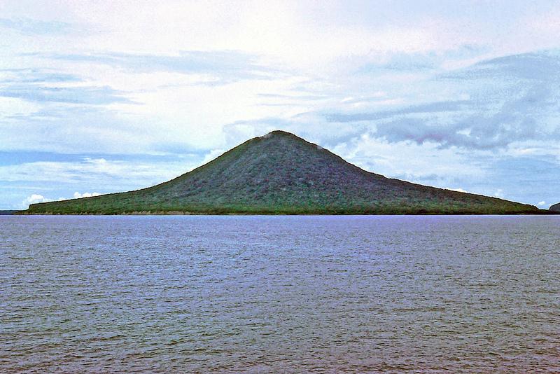 Krakatau [Krakatoa] - Sundra Strait, Indonesia.  Polyrus