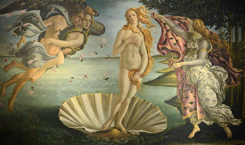 The Birth of Venus, Boticelli