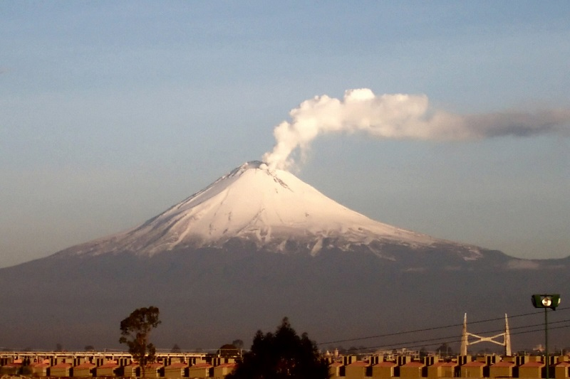 Popocatépetl Puebla, Mexico.  Russ Bowling