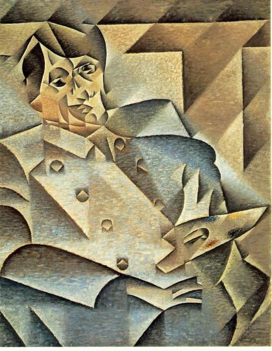 Portrait of Pablo Picasso, 1912, Juan Gris
