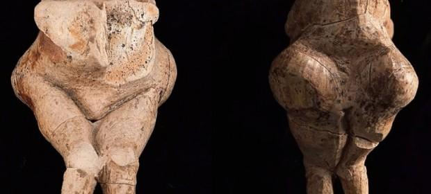 Двустранен изглед на Венера, открита в Сибир