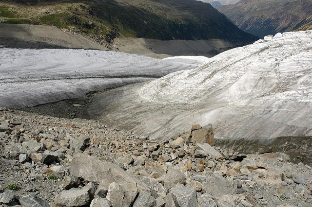 Pers-Gletscher und Morteratsch-Gletscher:  Uglix