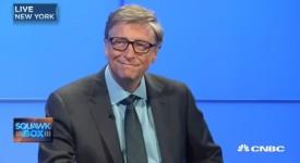 Бил Гейтс в интервю за CNBC/ PrtSC Youtube