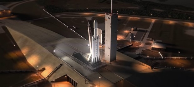Falcon Heavy на SpaceX