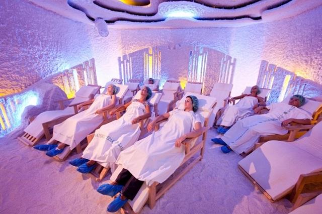 Солна стая, халотерапия