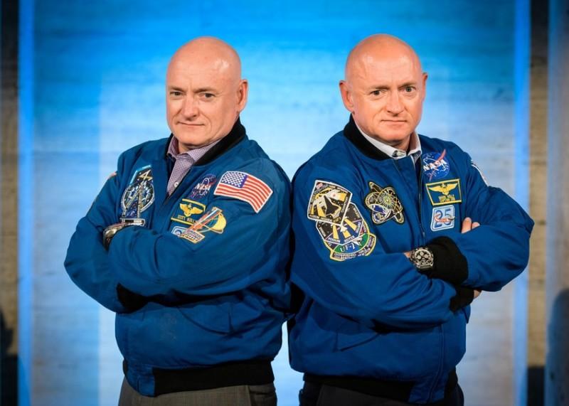Братята близнаци Скот и Марк Кели