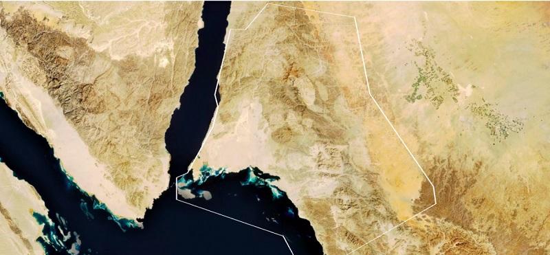 На това място трябва да изникне NEOM - град на бъдещето, който да намали зависимостта на Саудитска Арабия от износа на петрол