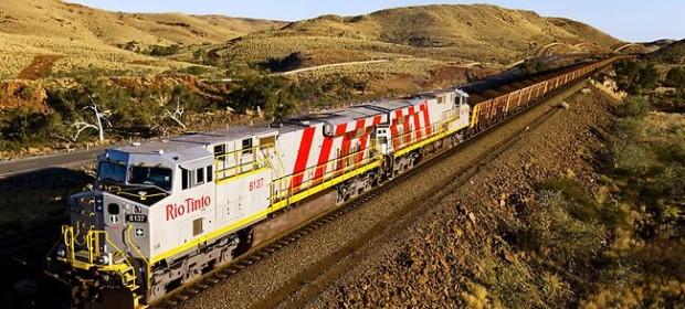 Автономният влак на Рио Тинто