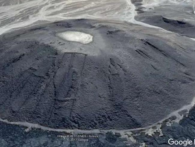 Портите на Ада са на билото на вулкан