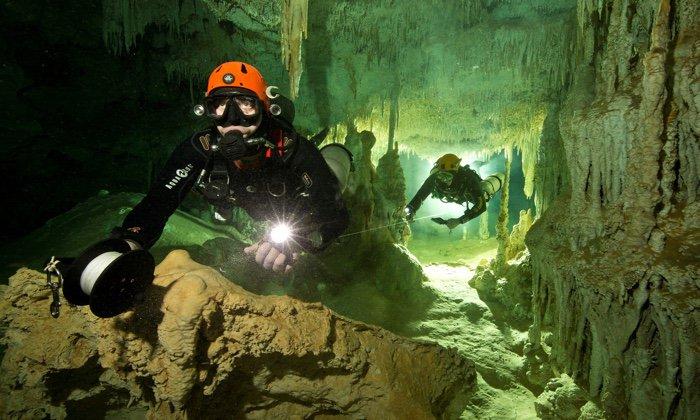 Пещерата Сак Актун, Мексико. Herbert Meyrl/GAM