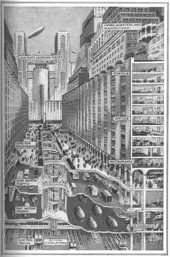 Градът на бъдещето, 1928 г.