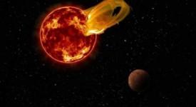 Гигантски пламък е изригнал от Проксима Кентавър на 24 март 2017.