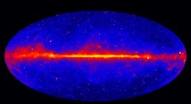 Fermi gamma ray sky (NASA)