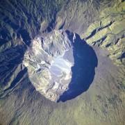 Калдерата на Тамбора. НАСА