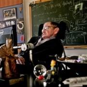 проф. Стивън Хокинг в кабинета си в Кеймбридж през 2011. Снимка: Сара Лий за The Gardian
