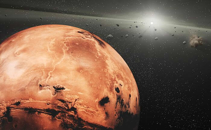 Марс, снимка: NASA
