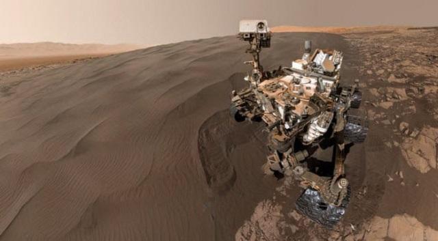 Кюриозити на Марс