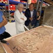 Steinsarkophag aus dem 3. Jahrhundert gefunden