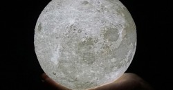 3D лампа-луна