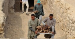 Sieben Gräber im ägyptischen Sakkara entdeckt