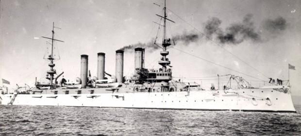 Американски боен кораб USS California - това е първото име на кръстосвача, който по-късно е прекръстен на Сан Диего. /imago/ Arkivi
