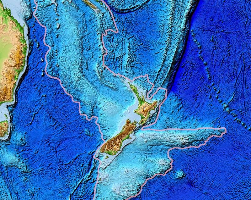 Зеландия, топография