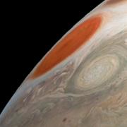 Голямото червено петно на Юпитер. НАСА
